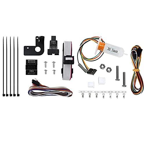 3DINNOVATIONS Auto Leveling Sensor 3D Touch Probe Upgrading Kits for Ender 3,Ender 3 Pro, CR 10 V1,SKR V1.3 Mainboard 3D Printers