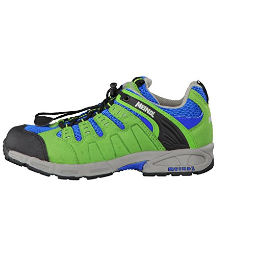 Meindl 2046-36 Snap Junior - Zapatillas de senderismo de Material Sintético para niño Multicolor - divers