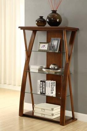 Legends Furniture Zsuz-6009 Super Z Bookcase, Dark Chocolate (Legends Bookcase Furniture Contemporary)