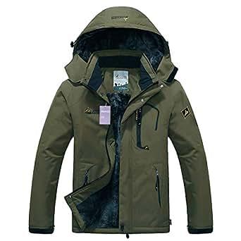 Amazon.com: Alomoc Men's Winter Hiking Jacket Waterproof