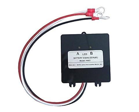 Battery Equalizer 2 × 12V for Lead-acid Batteris Balancer Charger for Gel Flood AGM Lead Acid - 24v Lead Acid Battery