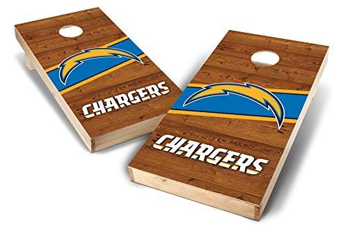 PROLINE NFL Los Angeles Chargers 2'x4' Cornhole Board Set - Logo Design