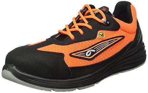 Giasco, Scarpe antinfortunistiche uomo Arancione Nero/Arancione
