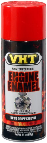 VHT ESP121007 Engine Enamel Universal Bright Red Can - 11 ()