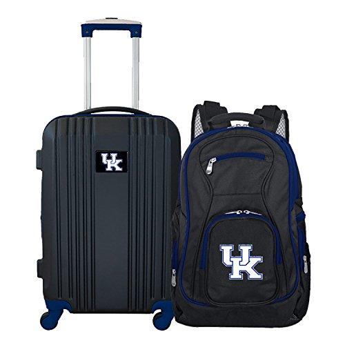 Denco NCAA Kentucky Wildcats 2-Piece Luggage Set (Wildcats Laptop Bag Ncaa Kentucky)