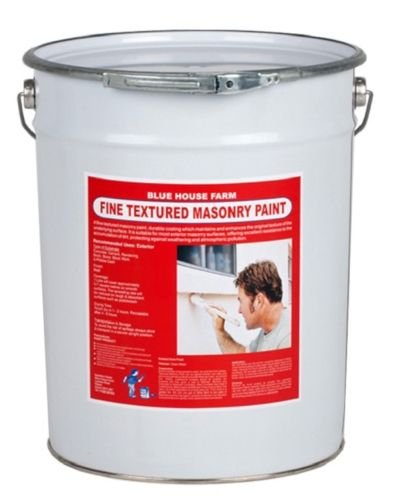 Masonry Paint - Magnolia - 20lts - Trade Fine Textured Basildon Paints