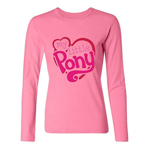 Tommery Women's My little pony Hasbro Rainbow Dash Costume Logo Long Sleeve Cotton T Shirt (2)