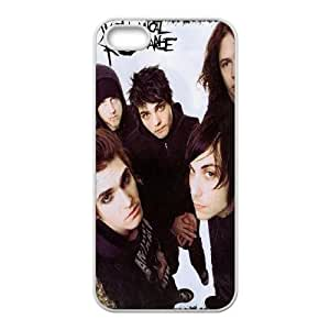 [MEIYING DIY CASE] For Apple Iphone 5 5S Cases -My Chemical Romance Music band-IKAI0447823