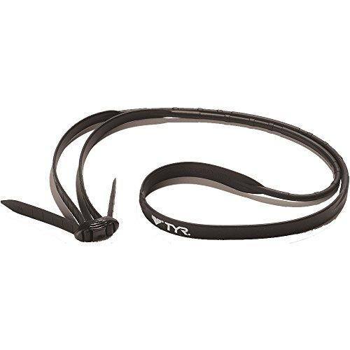 (TYR Goggle Strap Kit (LGSSPD) - Black)