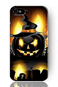 THYde SPRAWL New Beautiful Clear Vintage Design Personalized Hard Plastic Snap on Slim Fit Demon Pumpkin Iphone 6 4.7 Case ending