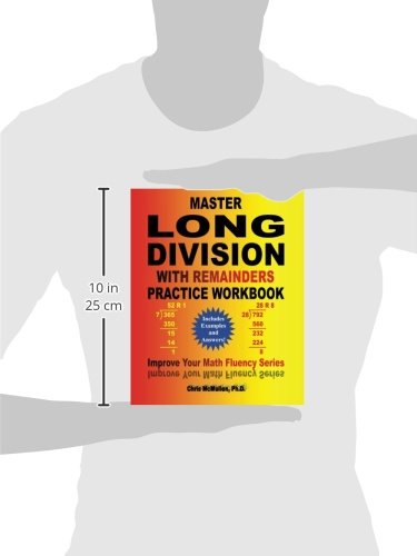 Master Long Division with Remainders Practice Workbook: (Includes ...