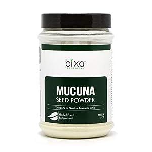 Gut Health Shop 41jQaLLYv9L._SS300_ Mucuna Pruriens Powder (Velvet Bean Powder/Kapikacchu) (7 Oz / 200g)