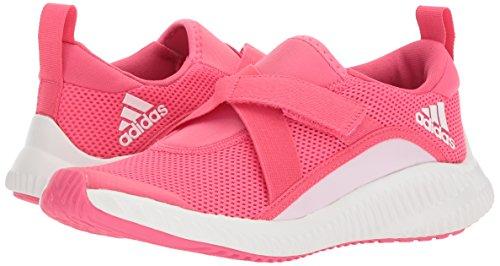 adidas Girls' Fortarun, Chalk Blue/Aero Pink/White, 10.5 M US Little Kid by adidas (Image #6)