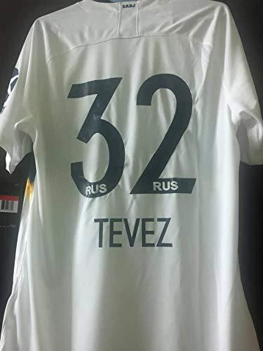 sports shoes debb2 ec761 Amazon.com : Retro Carlos Tevez#32 Boca Juniors Away Soccer ...