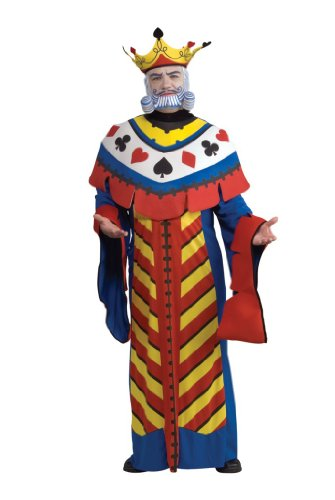Creative Halloween Costumes Adults (Playing Card King Adult Costume - Large)