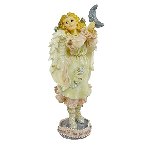 Boyds Bears Resin Luna The Light Of The Silvery Moon Angel Folkstone - Resin 7.25 -