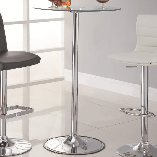 Coaster Bar Table Top Base Black