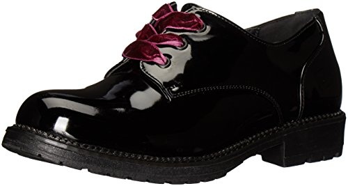 Dirty Laundry by Chinese Laundry Women's Rockford Oxford, Black Smooth, 7 M US