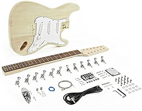 Kit de Bricolaje de Guitarra Electrica LA de 12 Cuerdas: Amazon.es ...
