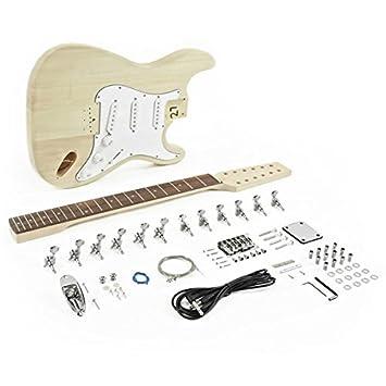 Kit de Bricolaje de Guitarra Eléctrica LA de 12 Cuerdas: Amazon.es: Instrumentos musicales