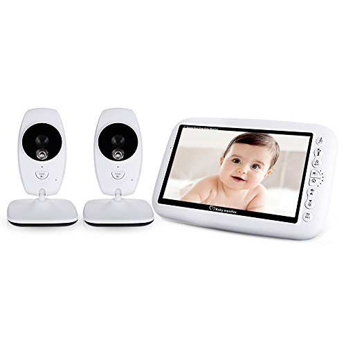 Robolife 7.0 inch Wireless 2 Camera LCD Display Infrared Nig