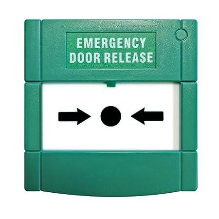 Re Settable Emergency Break Glass Surface Mount Emergency Door