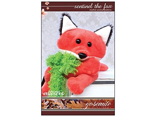 McKay Manor Musers Stuffed Animal Sentinel the Fox Pattern