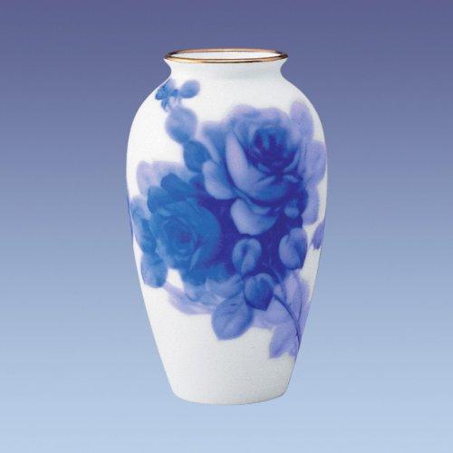 大倉陶園 ブルーローズ 花瓶 2A/8011 B0080FX5UY