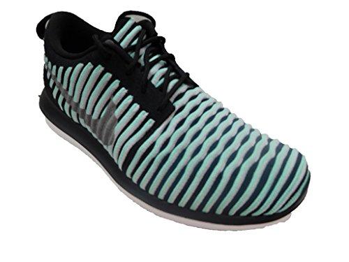 6dcb22e955ef Galleon - Nike ROSHE TWO FLYKNIT Girls Girls Fashion-sneakers 844620-301 7Y  - Green Glow Metallic Silver