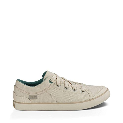 Teva Women's W Freewheel Washed Canvas Shoe, Natural, 11 M US W FREEWHEEL WASHED  CANVAS-W