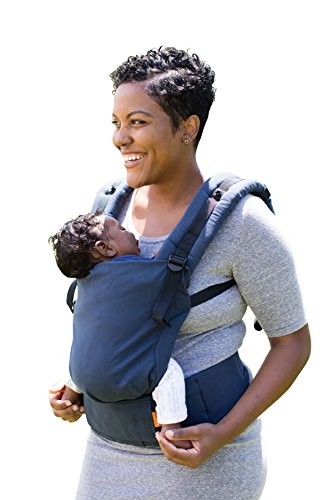 Image of the Baby Tula Free-to-Grow Baby Carrier, Adjustable Newborn to Toddler Carrier, Ergonomic and Multiple Positions for 7 – 45 pounds – Indigo (Indigo Blue)