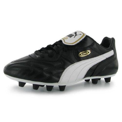 King Top Football De Noir Homme Fg Di Puma blanc Chaussures E45gF5