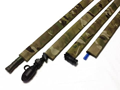 Multicam Hydration Pack Drink Tube Cover - Airsoft Hydration Pack