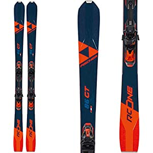 Fischer RC One 86 GT Skis w/RSW 12 GW Bindings Mens