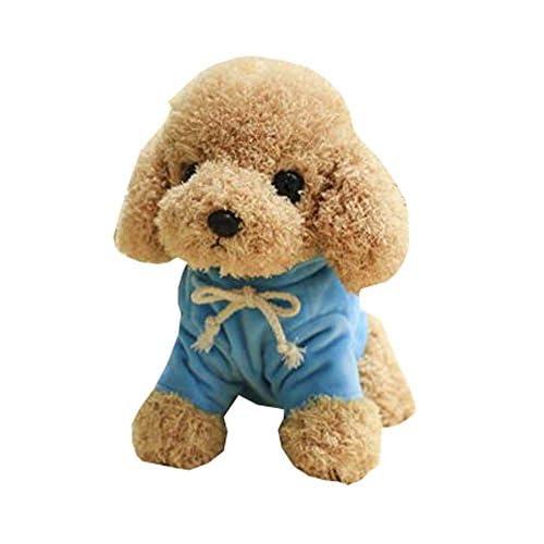 """Peluche chien, 8 """"doudou doux peluche animaux cadeaux décoration pour garçon et fille, B"""