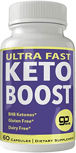 Ultra Fast Keto Boost Weight Loss Pills with Advanced Natural Ketogenic BHB Burn Fat Supplement Formula 800MG Capsules