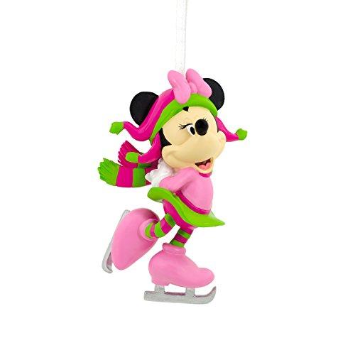 Hallmark Disney Minnie Mouse Skating Christmas Ornament (Christmas Skate Tree Ice Decoration)