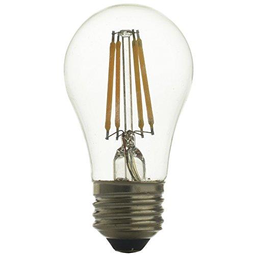 Kichler 40W Equivalent 4w Dimmable a15 Vintage LED Decorative Light Bulb Vintage Antique Style Light (Kichler Incandescent Candle)