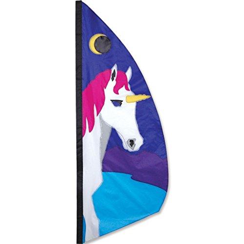 - Premier Kites 23249 Wind Garden Ripstop Nylon Feather Banner, Unicorn, 3-1/2-Feet