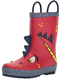 Boys Printed Rain Boot