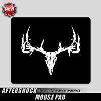 Deer Hunting Archery Skull Mouse Pad Big Rack