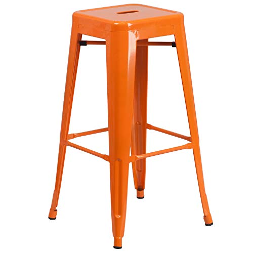 Flash Furniture CH-31320-30-OR-GG Colorful Restaurant Barstools 30