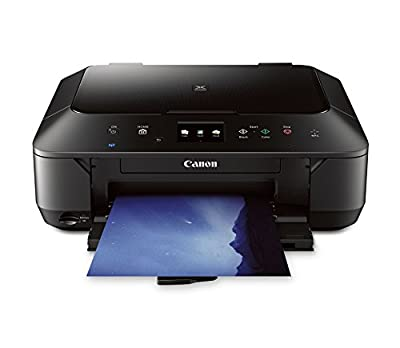 CANON PIXMA MG6620 WIRELESS ALL-IN-ONE COLOR CLOUD Printer, Mobile Smart Phone, Tablet Printing, and AirPrint(TM) Compatible, White by Canon USA Inc.