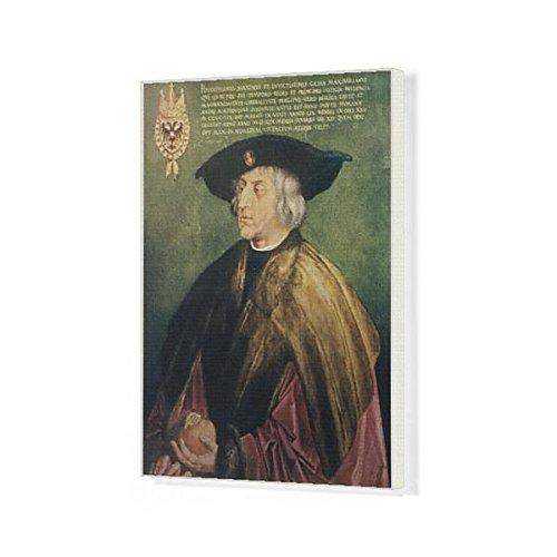 20X16 Canvas Print Of Maximilian I/durer Ptg (623345) by Prints Prints Prints