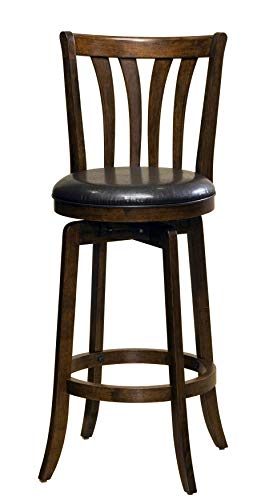 Hillsdale Savana Swivel Counter Stool, Cherry (Stools Swivel Counter Wooden)