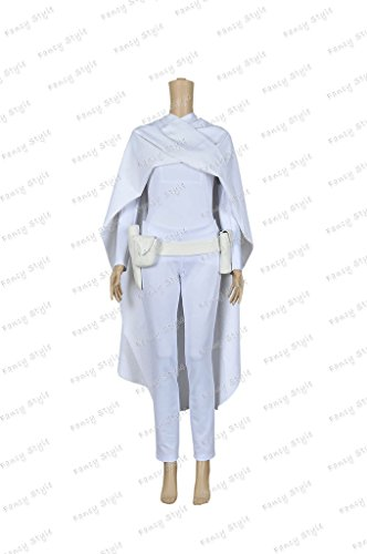 Star Wars 2 Padm¨¦ Amidala Cosplay Costume Uniform White L -
