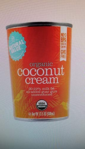 - Natural Value Organic Coconut Cream, 13.5 Ounce