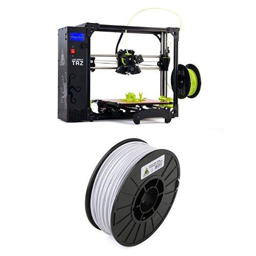 LulzBot-TAZ-6-3D-Printer-with-ABS-3D-Printer-Filament-3-mm-Diameter-1-kg-Spool-White