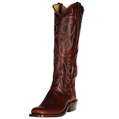Olathe Boot Co. Stivali Di Stivale Oleato Castagno Uomo 8 D (m) Cioccolata