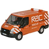 Oxford Diecast 76FT003 RAC New Ford Transit Van (Low Roof)
